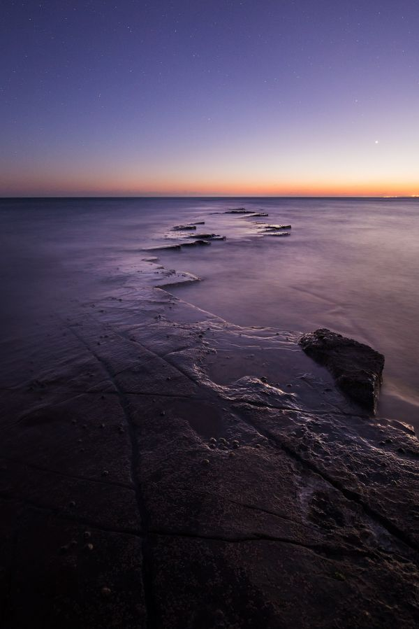 Twilight at Kimmeridge